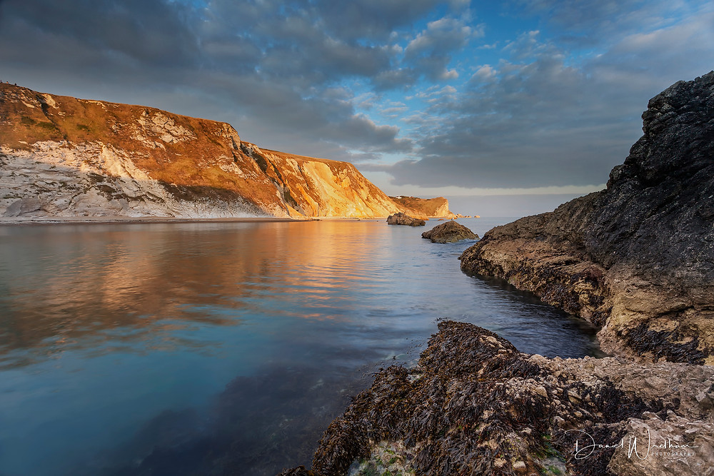Amazing Light, Man O'War Bay, Dorset Sunset