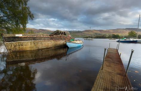 Loch Ness Graveyard