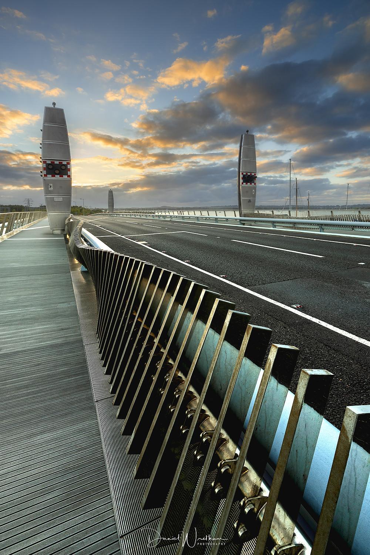 Twin Sails Bridge Sunset