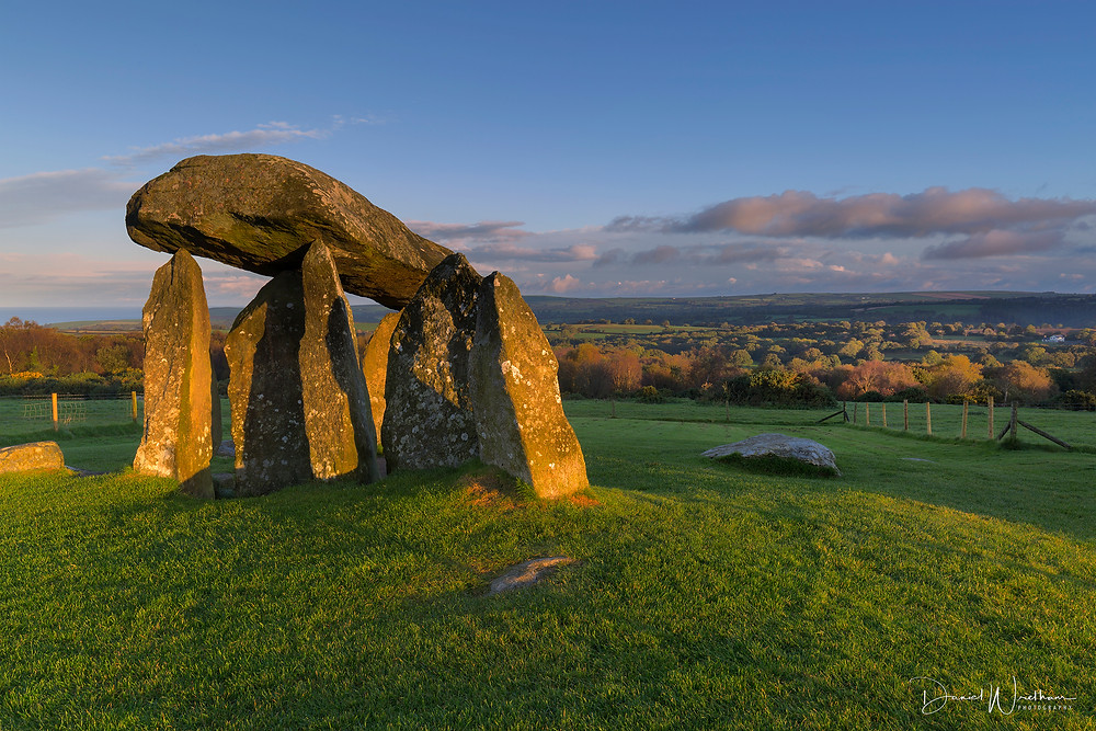 First light at Pentre Ifan