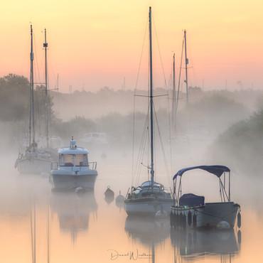 Mist at Sunrise