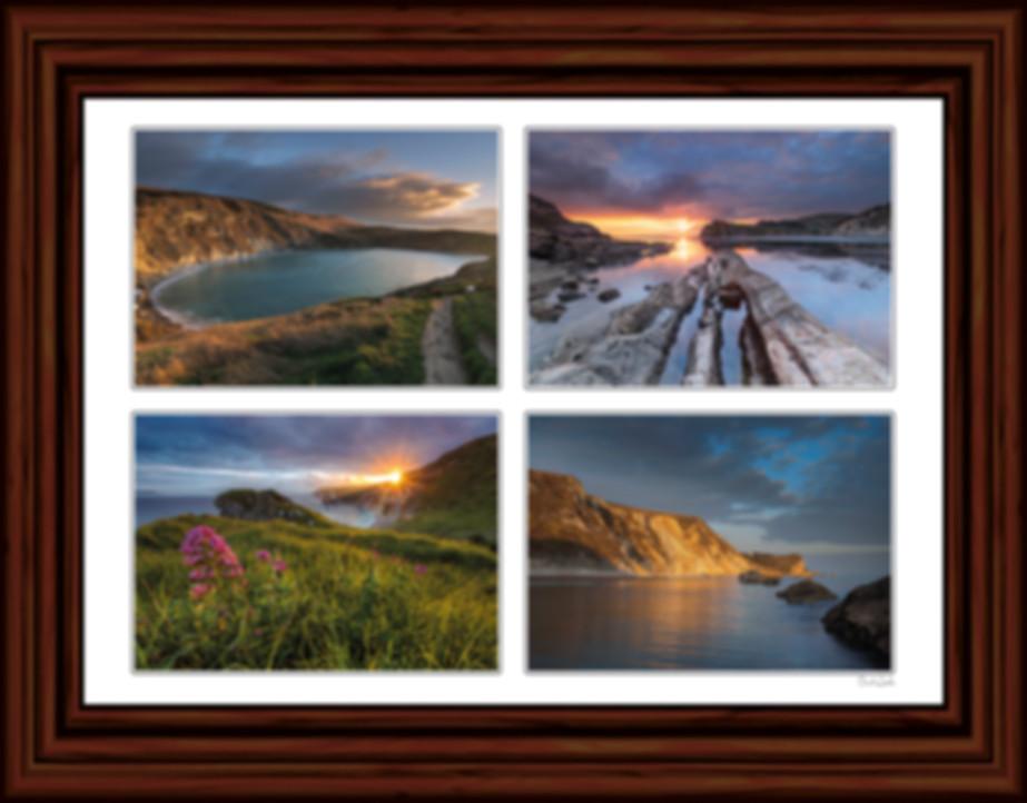LulWorth Cove Sunset, St Oswalds Sunset, Man O'War Bay
