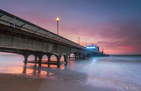 Sunrise at Bournemouth Pier
