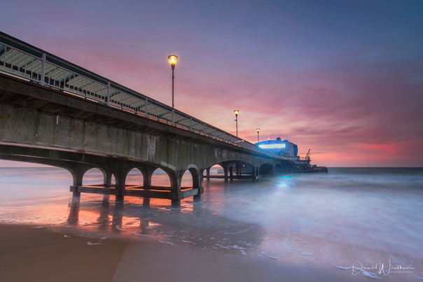 Sunrise at Bournemouth Pier