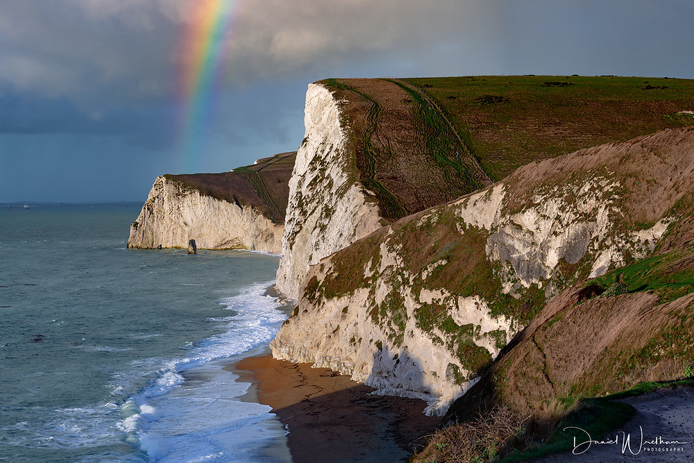 Durdle Door Rainbow, Jurassic Coast, Dorset Landscape photography