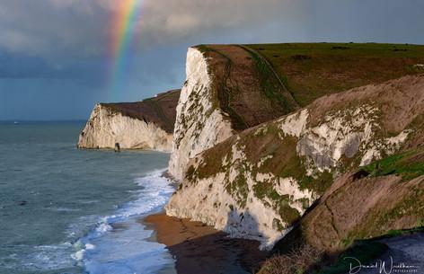 Rainbow at Bat Head