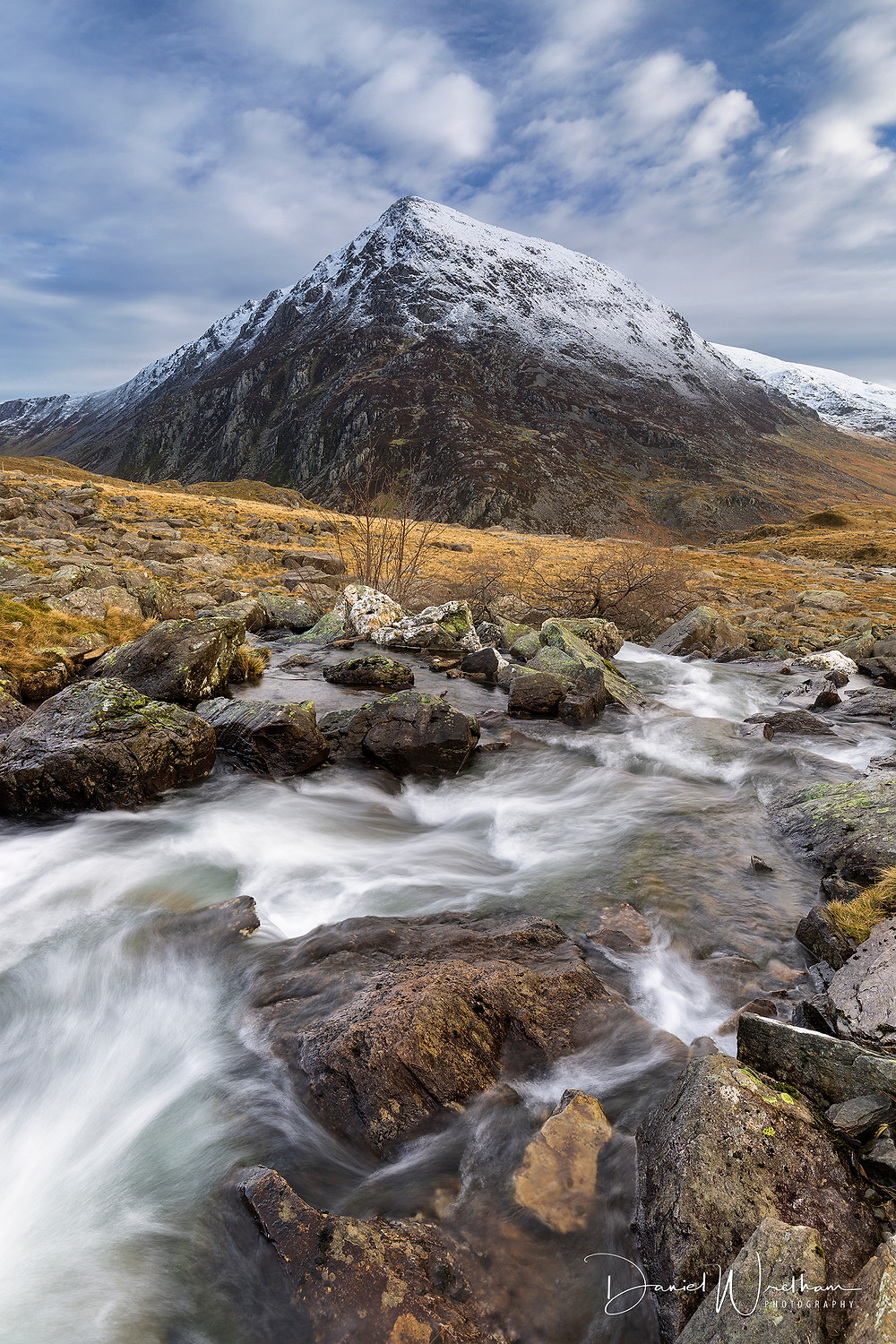 Snowdonia, Snowdon View, Landscape Photography, Blog, Daniel Wretham, Light, Photographing Snowdonia, Pen yr Ole Wen, Mountain stream
