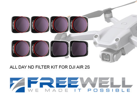 Freewell All Day Kit ND Filters Review - For DJI Air 2S