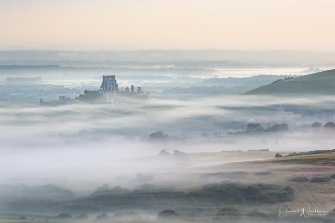 Corfe Castle Cloud Inversion