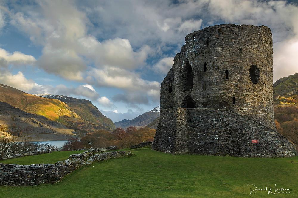 Dolbadarn Castle, Snowdonia, Llanberis, Llyn Pardan, Castle Sunset, Wales, Landscape Photography, Daniel Wretham
