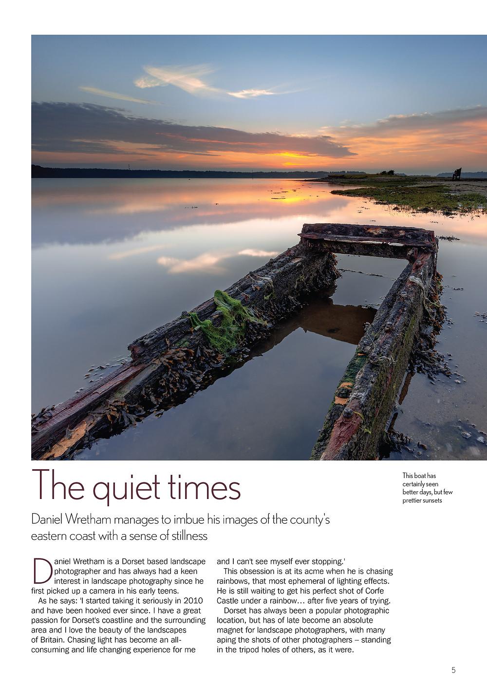 Dorset Life Magazine Daniel Wretham