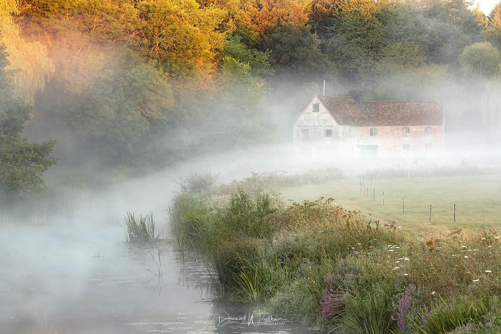 Sturminster Mill, Mist