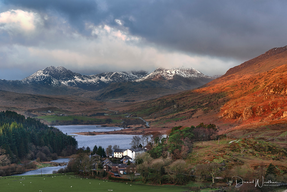 Capel Curig Pinnacles,Snowdonia, Snowdon View, Landscape Photography, Blog, Daniel Wretham, Light, Photographing Snowdonia, Llanberis, Llyn mymbyr, Capel Curig Pinnacles, Sunrise, Sunset, Mountain,