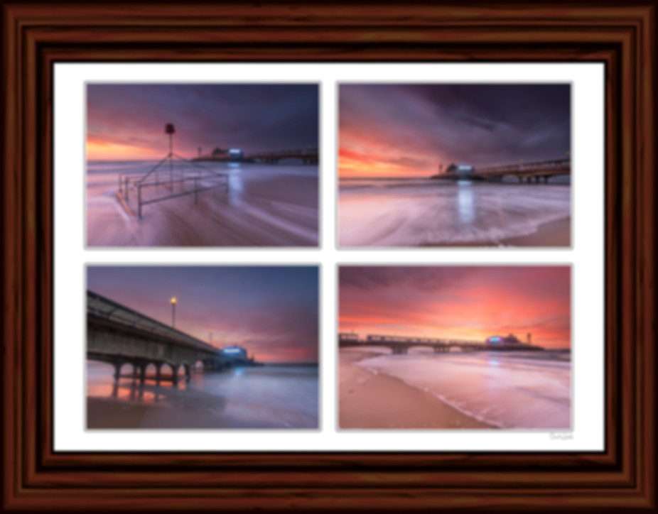 Bournemouth Pier Picture, Bournemouth Pier Sunset, Bournmouth Pier Sunrise, Bournemouth Pier Storm Picture