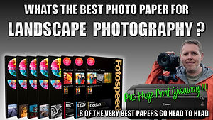 Whats the best photo paper for landscape photography