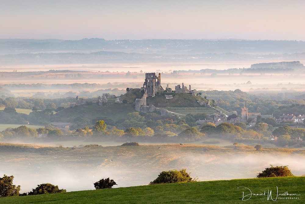 Corfe Castle Mist