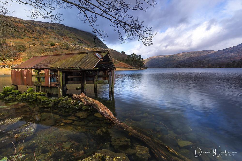 Snowdonia, Crib Goch, Snowdon View, Landscape Photography, Blog, Daniel Wretham, Light, Photographing Snowdonia, llyn Gwynant, Rust Old Boat House