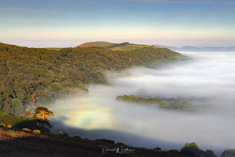 Mist Bow over Dorset