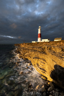 Moody Sky at Portland Bill
