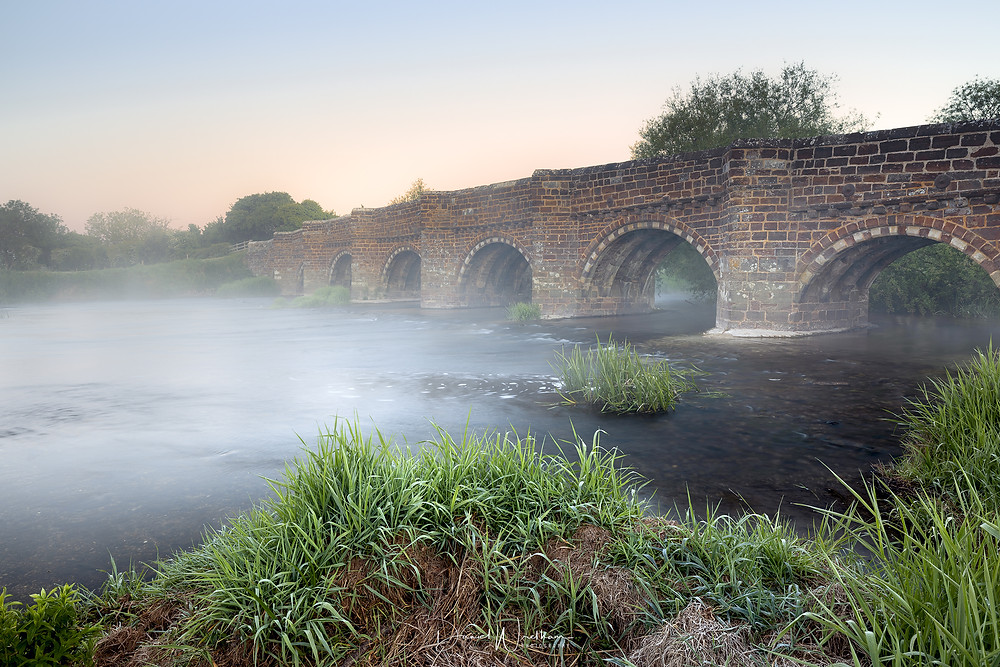 White mill Bridge Mist