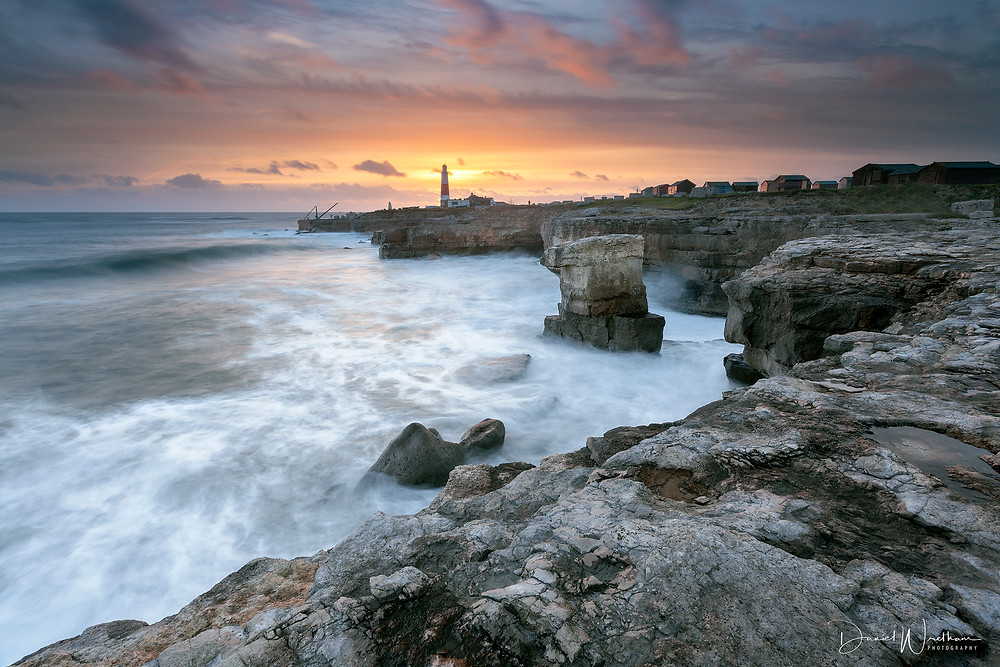 Portland, Dorset, Sunset, Locations, Photography, Daniel Wretham, Seascape