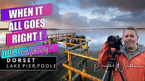 Landscape photography Lake Pier