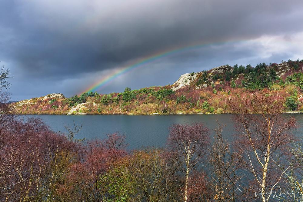 Rainbow, Llyn Pardan, Landscape photography blog, Daniel Wretham, Snowdonia