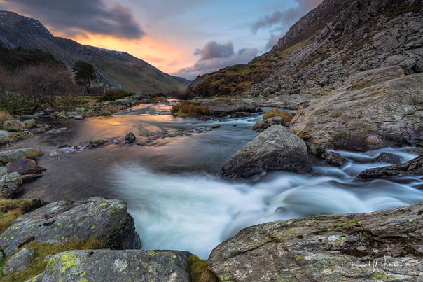 Ogwen Sunset