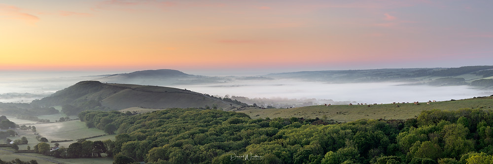 Dorset Misty Sunrise