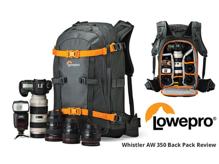 Lowepro Whistler AW 350 Backpack Review