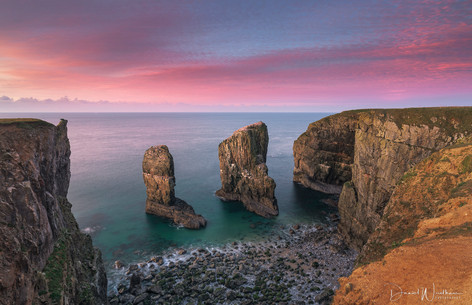 First Light at the Stacks