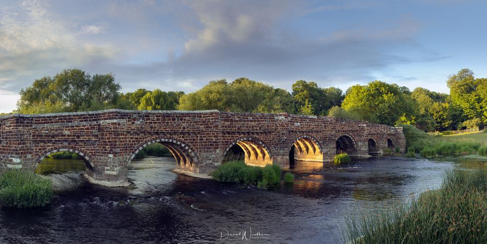 White Mill Bridge Panorama