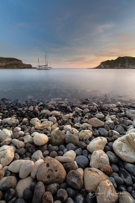 Lulworth Cove Sunset, Dorset Landscape Photography