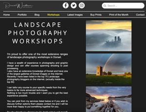 Dorset Landscape photography Workshops