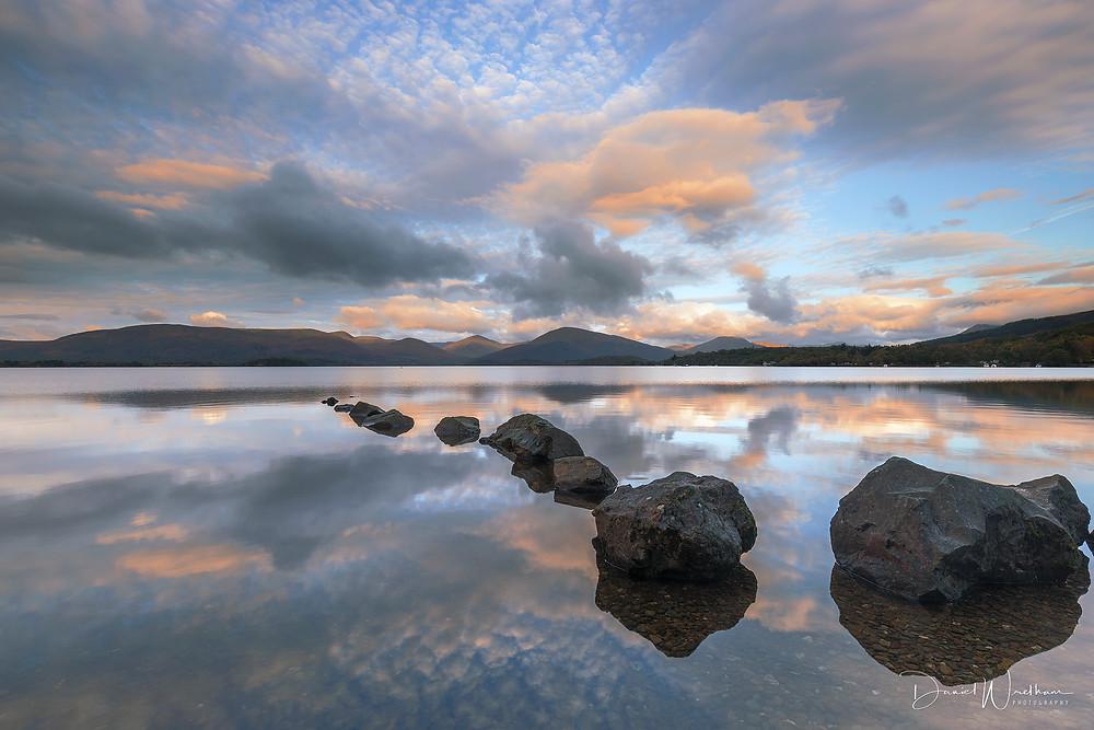 Milarochy Bay Sunrise, Loch Lomond, Trossachs