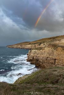 Rainbow over Seacombe