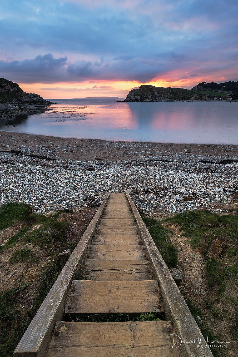 Lulworth Cove Sunset, Best photography locations, Dorset