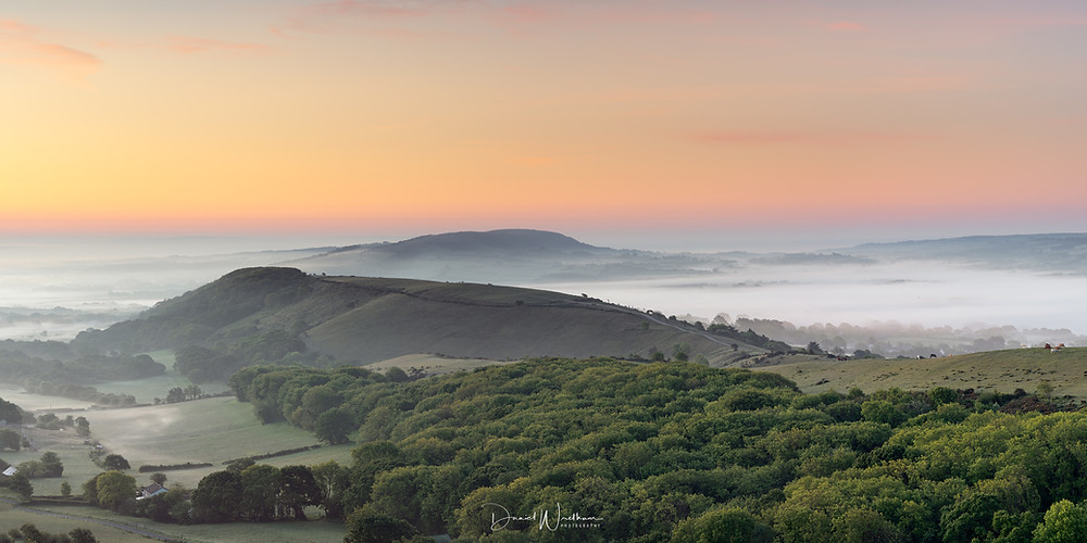 West Hill, Dorset Sunrise