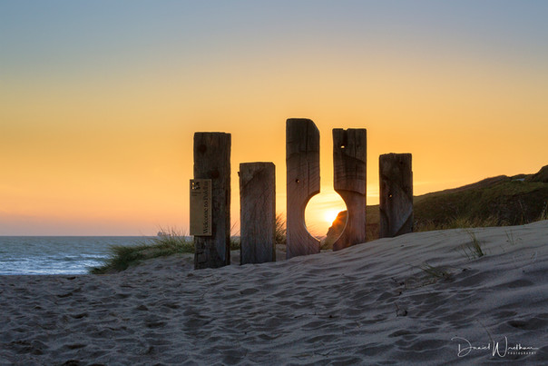 Poldhu Beach Sunset