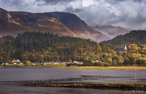 Glencoe from Loch Leven