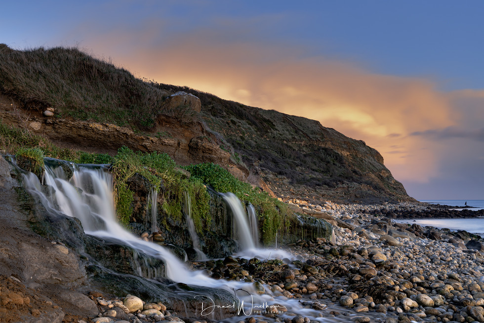 Osmington Mills Sunset