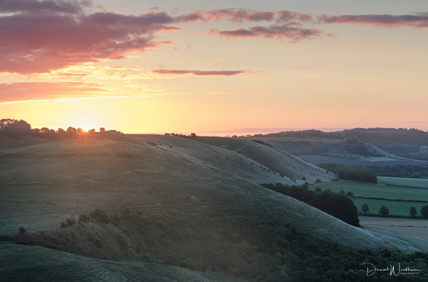 Sunrise Over The North Wessex Downs