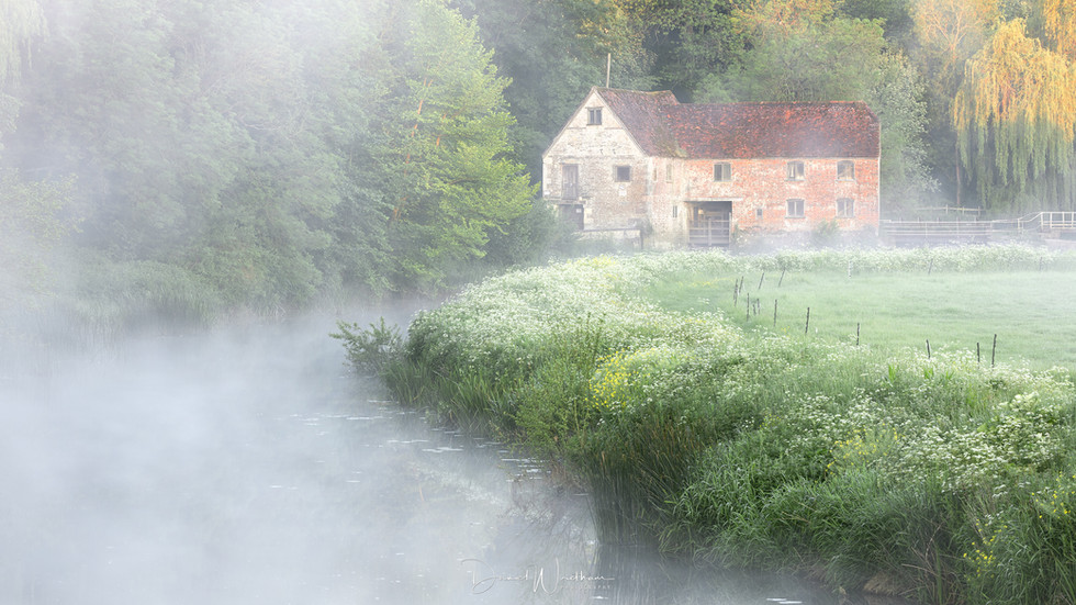 Misty Morning at the Mill
