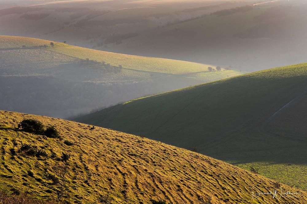 Dorset Landscapes, Long Lens Landscapes