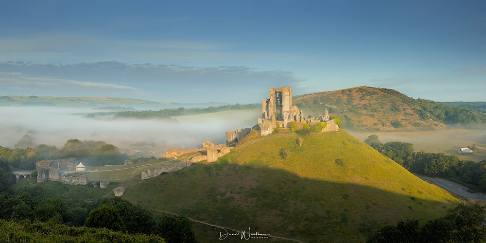 Corfe Castle East Hill