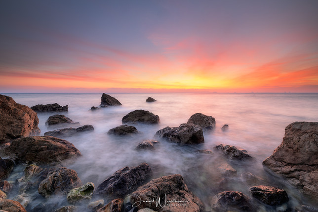 St Oswalds Bay Sunset