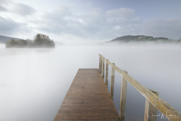 Mist at Llangorse Lake
