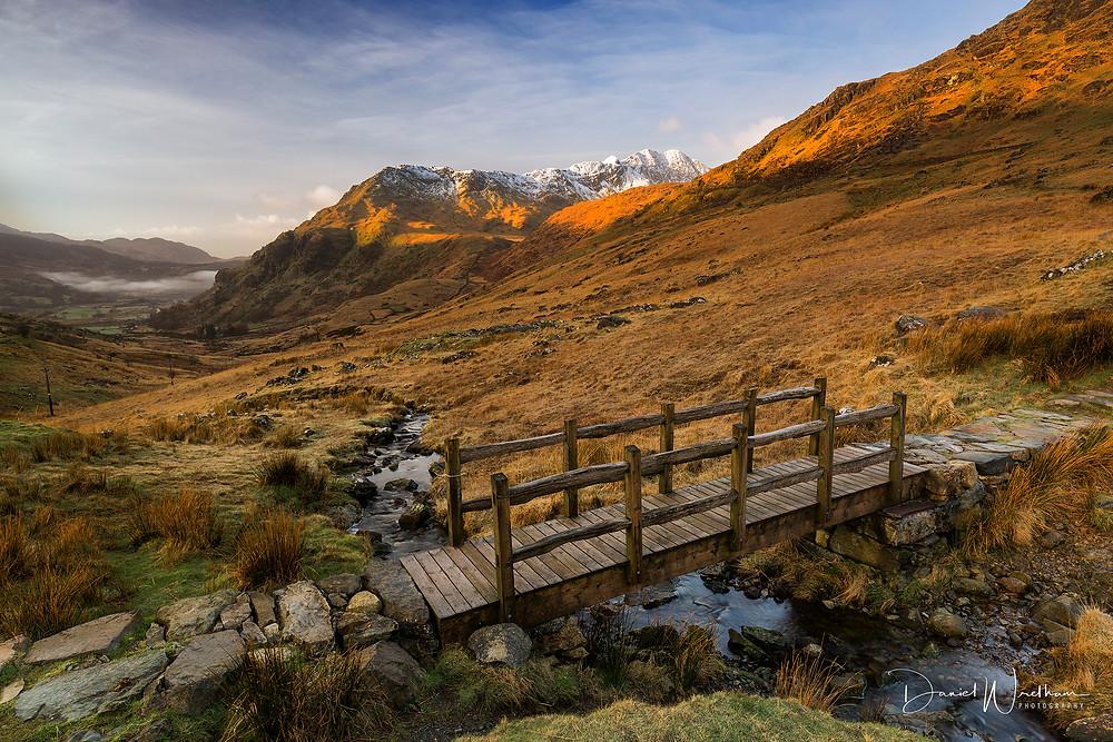 SNowdonia, Llanberis Pass, Snowdon, Light, Sunrise, Mist, Landscape Photography, Moring, Daniel Wretham