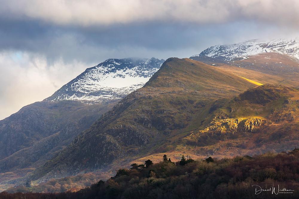 Snowdonia, Snowdon View, Landscape Photography, Blog, Daniel Wretham, Light, Photographing Snowdonia, Llanberis, Llyn Paradan, Mountain