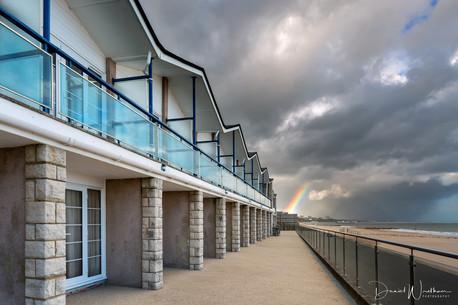 Bournemouth Beach Rainbow